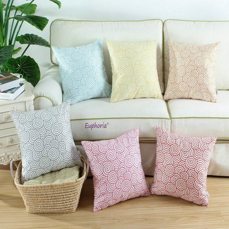 Decorative Bed Pillow Sets : Aliexpress.com : Buy Euphoria/CaliTime Cushion Cover Decorative Pillows Shell Home Sofa Bedding ...