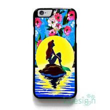 Fit for iPhone 4 4s 5 5s 5c se 6 6s 7 plus ipod touch 4/5/6 back skins cellphone case cover ARIEL LITTLE MERMAID