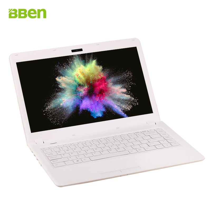 Bben 2GB DDR3 32GB ROM bluetooth WIFI HDMI N3050 dual core Netbook laptop ultrabook notebook computer windows 10 system white(China (Mainland))