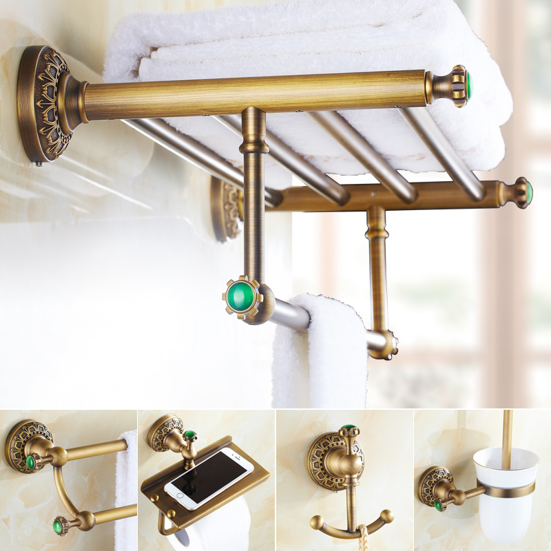 Green bath accessories promotion shop for promotional for Emerald green bathroom accessories