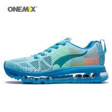 ONEMIX zapatillas para correr para hombres, zapatillas de deporte de tenis, de malla de aire, para correr, para caminar, para correr(China)