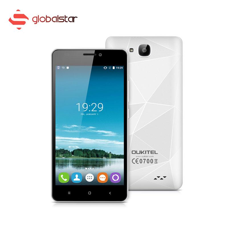 5.0 inch OUKITEL C3 Android 6.0 Smartphone 1GB RAM+8GB ROM 3G WCDMA Mobile Phone Quad Core MTK6580 Dual SIM Cellphone(China (Mainland))