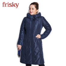 2016 Frisky High-quality Women's Winter Coat Jackets Thick Warm Wind Down Jacket Female Fashion Casual Parkas Plus Size FR2738(China (Mainland))