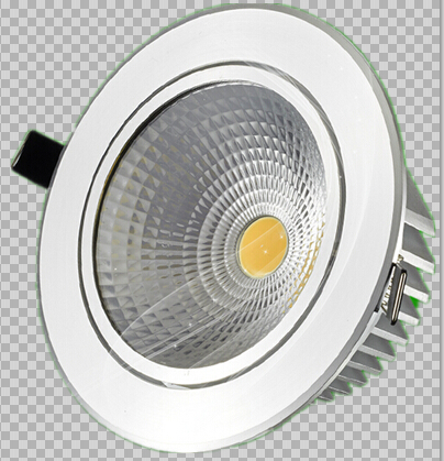 Free shipping Dimmable 9W 15W 20W COB LED Downlights Tiltable Fixture Recessed Ceiling Down Lights Lamp AC110V/AC220V(China (Mainland))