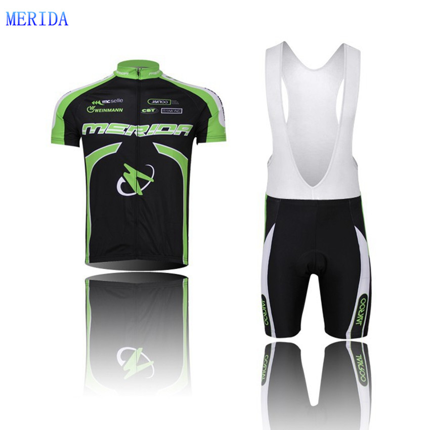 Merida Bicycle Team Mens Cycling Jersey Top Quick Dry Bike Roupa Ciclismo Short Sleeve Clothing CD0812 - World Store store