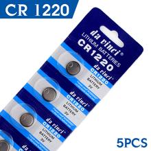 Button battery 5 Pcs 3V Lithium Coin Cells Button Battery CR1220 ECR1220 LM1220 KCR1220 DL1220 EE6219