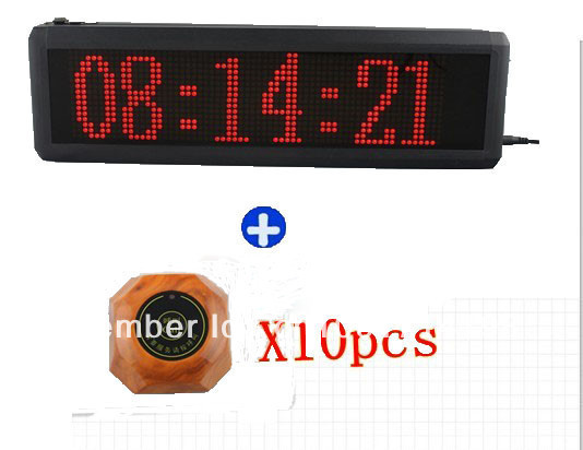 Restaurant Pager System Wireless Calling Waiter Server Call Paging System