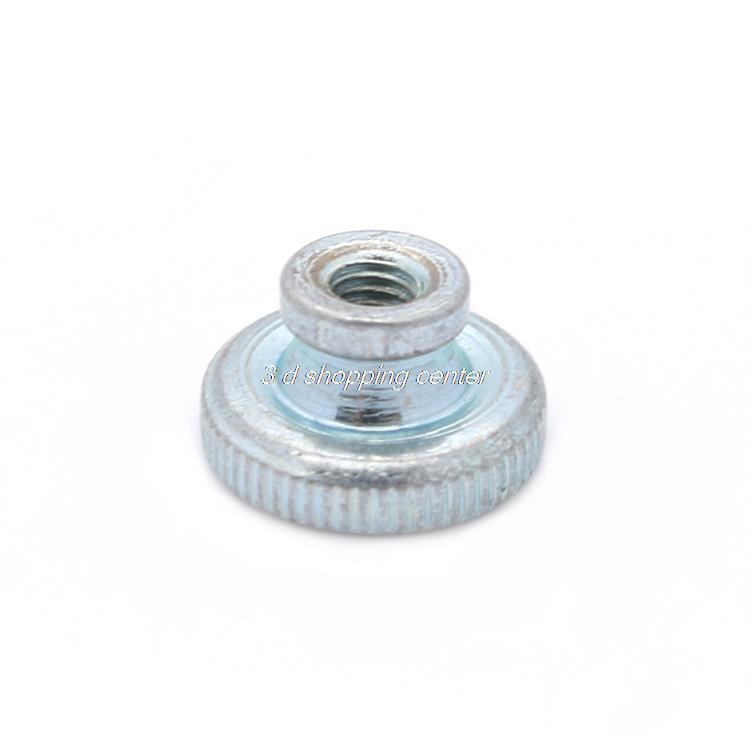 3D Printer Parts Wholesale 20pcs/lot Decorative Cap Nuts 3D Printer kit Press Nuts Heating Bed Adjustment Screw Nut M3(China (Mainland))