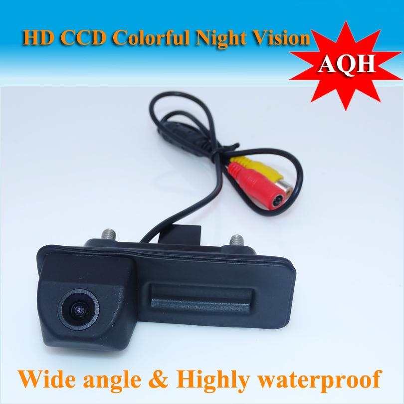 Rear view camera For skoda octavia fabia /For audi A1 Car parking camera Trunk handle camera Night vision waterproof color(China (Mainland))
