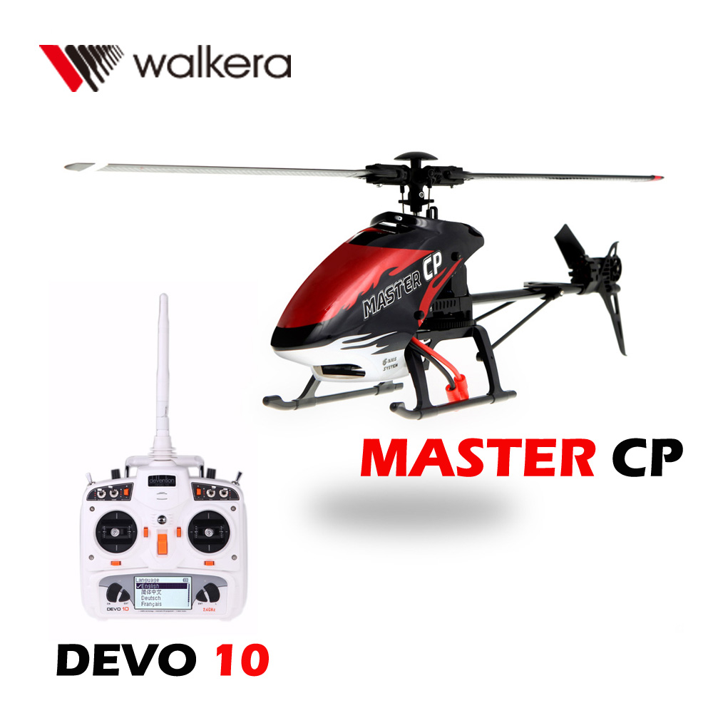 Walkera MASTER CP Flybarless 6-Axis Gyro 6CH Radio Controlled Helicopter Quadcopter Drone with DEVO 10 Transmitter Model 2(China (Mainland))