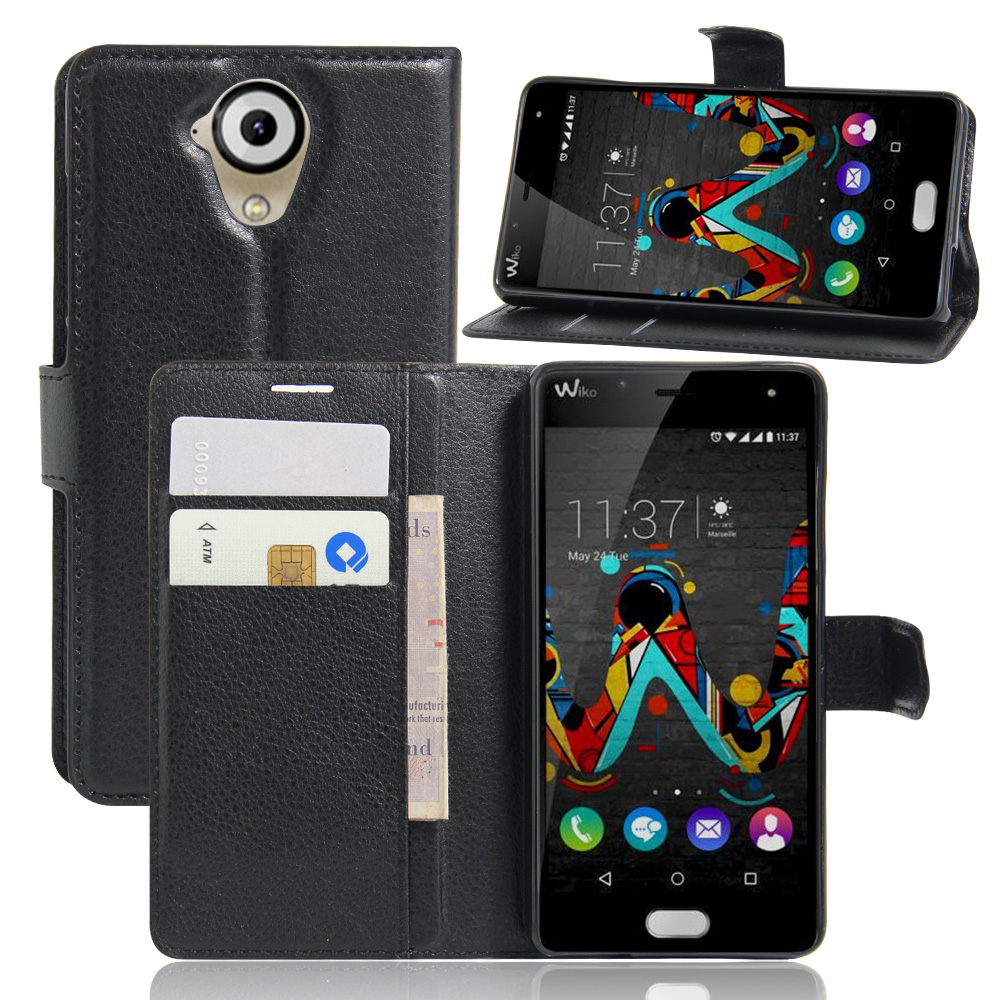 CYBORIS ZTE blade V7 lite Leather Phone Case Flip Cover Stand Wallet Bag Card Holder  -  VEnTIOn Shenzhen store store
