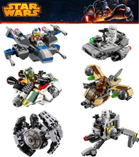 Buy 2016 LEPIN Star Wars Warship Spaceship Microfighters Building Blocks Model Set Figures Compatible Lepin Starwars for $18.89 in AliExpress store