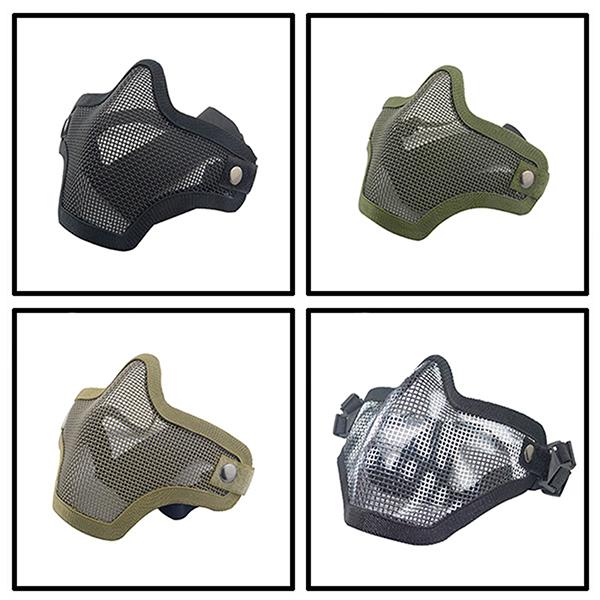 Steele Mask Tactical Mask Metal Steel