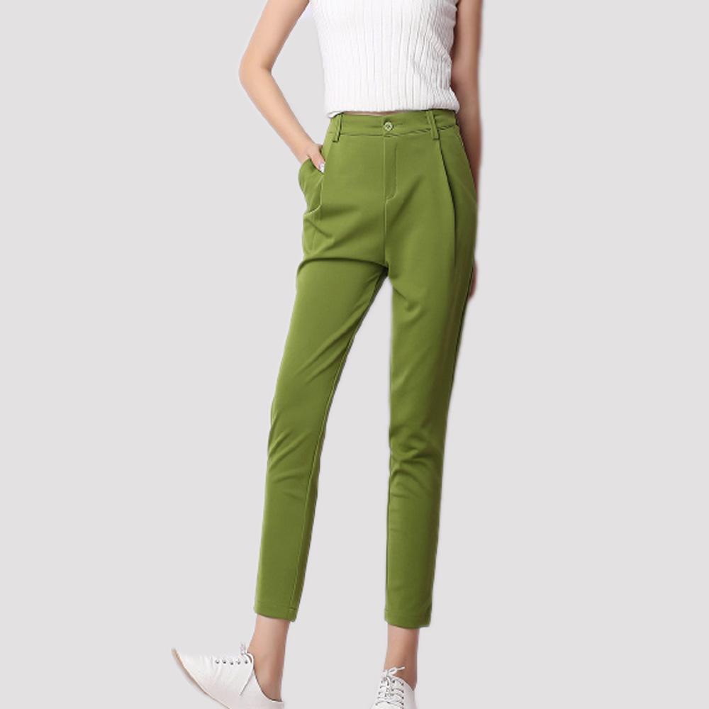 2016 Pants Capris Spring Summer Casual Pants Female Harem Pants Loose Plus Size Wide Leg Pants(China (Mainland))