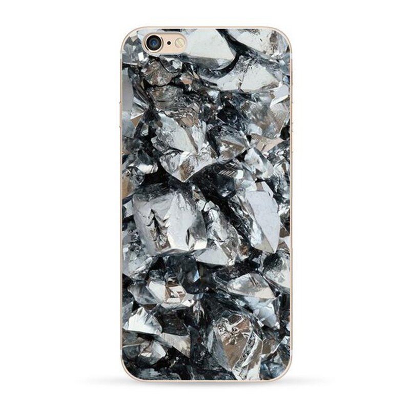 For iPhone 6 6s case 4.7 inch TPU Brick Wall Marble Glacier Stone Realistic Printed Silicon Soft TPU Cover For iPhone 6 Case 6s