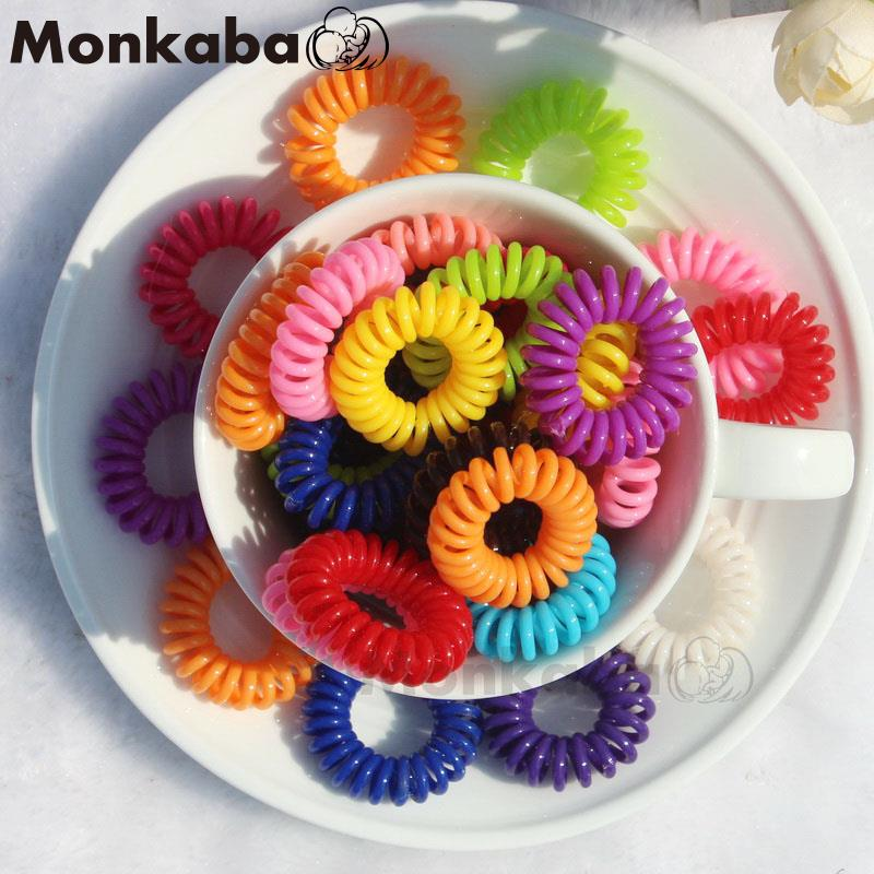 Korea Hot candy-colored telephone wire hair band / Hair Accessories / hair rope wholesaleОдежда и ак�е��уары<br><br><br>Aliexpress
