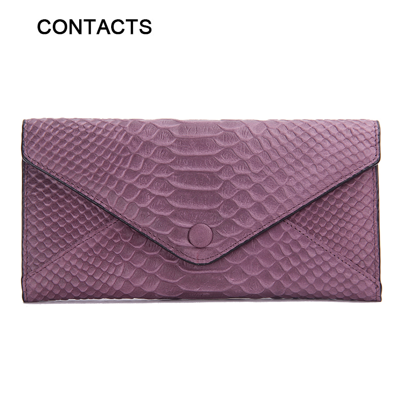 2016 New Genuine Leather Women's Wallets Purse Luxury Long Designer Brand Clutch Business Coin Zipper Bag(China (Mainland))