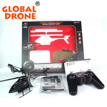 wl toys WL S977 3.5 CH Radio remote Control Metal Gyro helicopter rc Helicopter With Camera