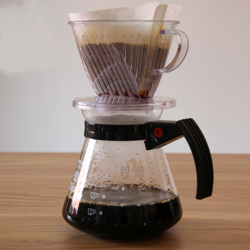 101/102 drip type coffee filtering cup hand coffee filter plastic coffee dripper simple coffee ...