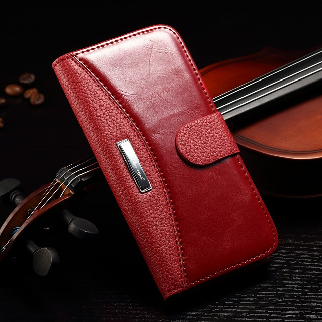 Premium Wallet Case iPhone 6 Plus 5.5'' A1522 A1524 Fashion Book Diary Style Phone Cover Apple Card Slots - Best Mall store