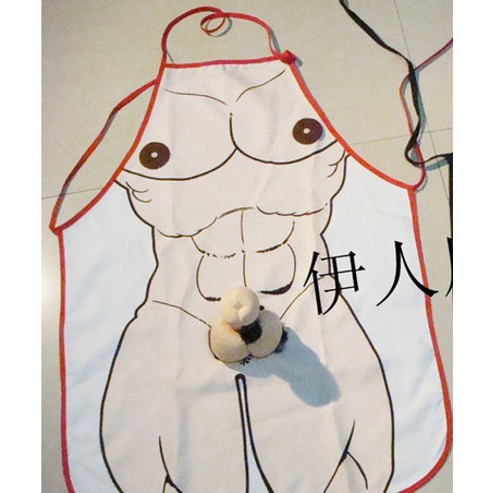 Hot Aprons Novelty Sexy Funny Kitchen Naked Men Cooking Apron Night Party Fancy Dress For Gift