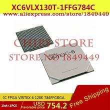 Integrated Circuits Types XC6VLX130T-1FFG784C IC FPGA VIRTEX 6 128K 784FFGBGA XC6 6V - Chips Store store