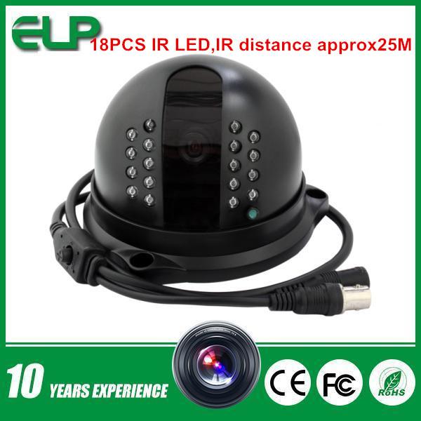 Hot New Product 2014 Cmos 700 TVL Analog Camera IR Led Day&Night Metal Dome Outdoor Analog cctv Camera ELP-C107HH(China (Mainland))