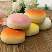 2015 New Arrival 10cm Cute Kawaii Squishy Buns Bread Shape Pendant Phone Charm To Phone Free Shipping(China (Mainland))
