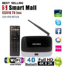 CS918 TV BOX Android smart TV Box Quad Core 2G+8G RK3128 Kodi preinstalled media player better than CS918 MXQ M8 M8S Q7 MXV