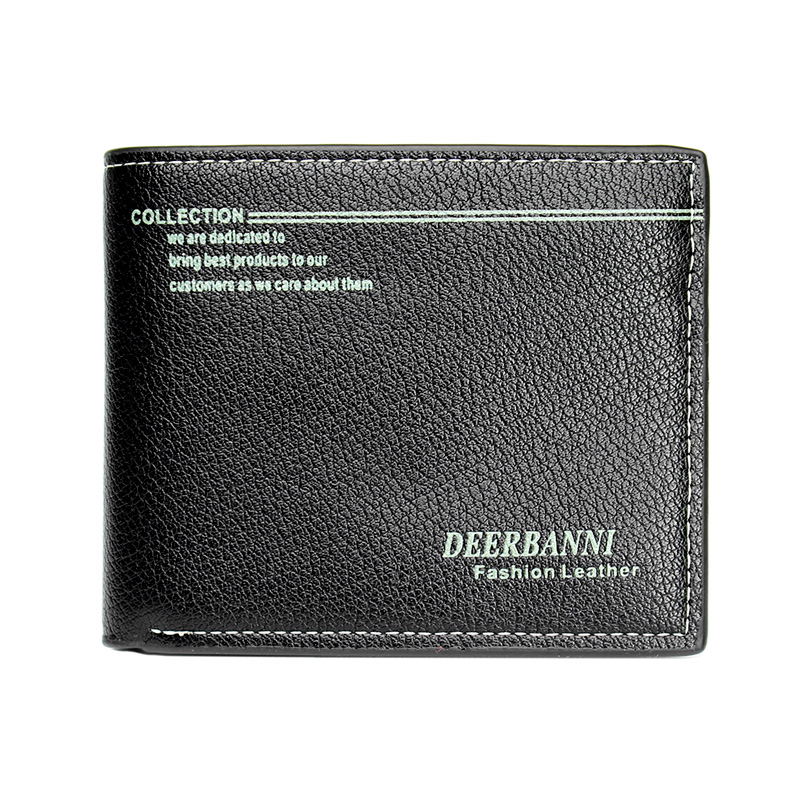 2016 Fashion Men's Wallets Short Design Pu Leather Cards Purse Male high quality portefeuille homme Wholesales(China (Mainland))