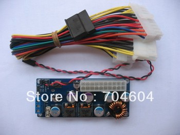 DC-ATX POWER SUPPLY WITH ITPS FUNTION INPUT:8-28V OUTPUT:ATX 120W FOR htpc/mini-itx PC/CAR PC/IA