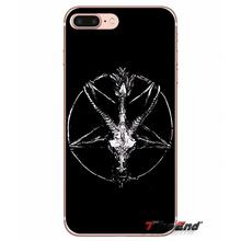 Per iPhone X 4 4S 5 5S 5C SE 6 6S 7 8 Plus Samsung Galaxy J1 j3 J5 J7 A3 A5 2016 2017 Killstar Satana Dire Meow male Caso Molle di TPU(China)