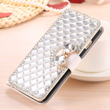 Buy Luxury Bling Crystal Rhinestone Diamond Flip Leather Case Elephone P8000 P9000 Lite M2 Card Holder Wallet bag for $9.49 in AliExpress store