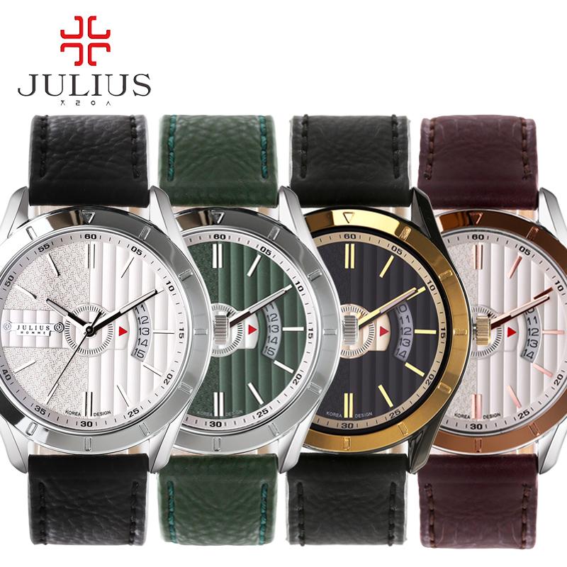 2016 JULIUS Luxury Men Watches Casual Premium Retro Antique Stylish Calendar Multifuction Sport Wirstwatch Relogio Masculino<br><br>Aliexpress