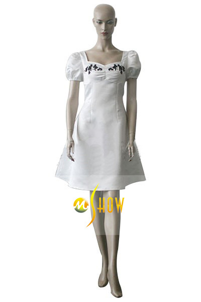 Cosplay Costume Lady White
