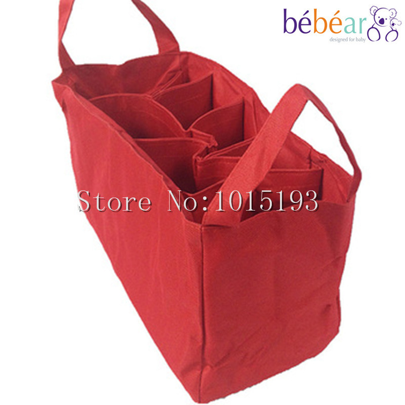 Free Shipping Hot Sale Fashion Diaper Bag Nappy Bag Carter's Mommy Bag Made 2 Colors Selections(China (Mainland))