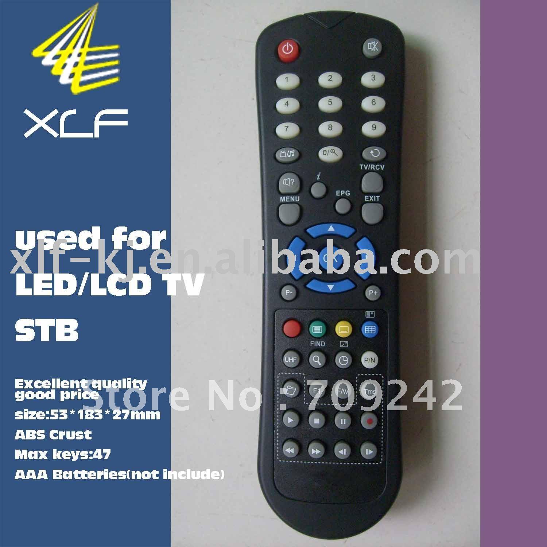 XLF-047A 47 keys LED/LCD/TV IR remote control(China (Mainland))