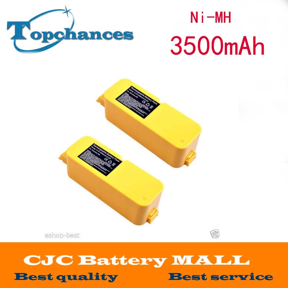 2PCS 3.5Ah Vacuum Cleaner Battery for iRobot Roomba 4905 4000 4130 4230 Discovery(China (Mainland))