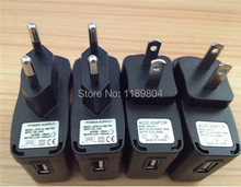 EU US wall charger ego ecig plug adapter travel charge e cig wall usb charger for usb cable line ego-c ego-w