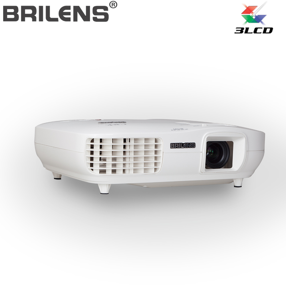 Brilens TL1920 Home Cinema Brand Projector,1920x1080P Native Real HD 3LED 3LCD Projector Full HD Movie Cinema Proyector(China (Mainland))