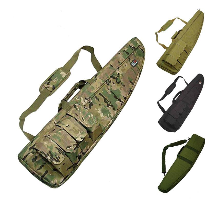 100cm Tactical Carry Rifle Range Shot Gun Bag Gun High Density Nylon Material Protection Bag Hunting Rifle Case