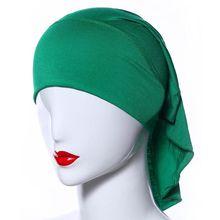 High Quality Women Modal Cotton Scarves Soft Beautiful Hijab Caps Shawl Muslim Headscarf Shawl 2016 Solid Color Cheap Free