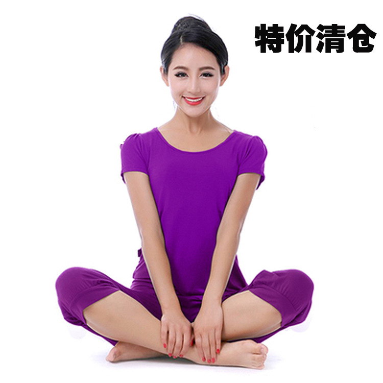The new summer Yoga suit modal comfortable breathable yoga clothing brand clothes and dance(China (Mainland))