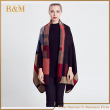 2016 Scarf Women Tartan scarves Tartan Plaid Scarf Cozy Checked Blanket Oversized Wrap Shawl