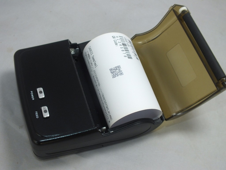5PCS X Mini Portable Bluetooth+USB 80mm 90mm/S POS Printer 384line Android Thermal Dot Receipt Printer Mobile Phone Printer(China (Mainland))