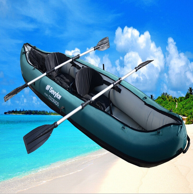 Sevylor Inflatable 2 Person River Lake Drift Water Ski Kayak Boats For Sale With Free Shipping(China (Mainland))