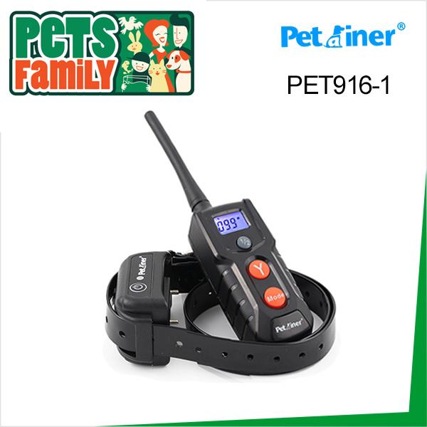 2015 New Blue Backlight LCD Remote Control 100LV Shock + Vibra Remote Electric Dog Training Collar(China (Mainland))