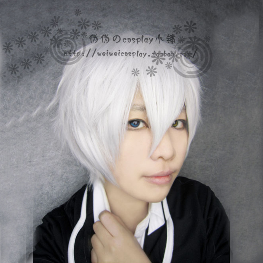 Anime APH Axis Powers Hetalia England Cosplay Wig Short 30cm Arthur Inu x Boku SS Silve Heat Resistant Hair