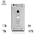 Ultra thin Metal Frame Personalize Anti knock Mobile Phone Case for iphone 6 6S 6 Plus