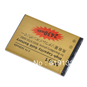 2430mah high power M-S1 Battery for blackberry MS1 8980 9700 9000 cell phones free shipping